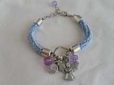 A minha pulseira - Anjo e Trevo | Maparim