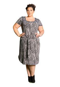 b8101a4af0 Fashion Bug Plus Size Dress - Vanessa Dress 2X Black White www.fashionbug.us