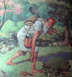 John Chapman (Johnny Appleseed) has become an American legend, but as a real person he introduced hundreds of new varieties to the country.