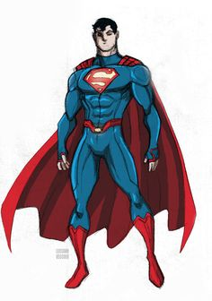 New Superman costume by LucianoVecchio on DeviantArt