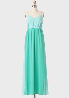 Beach House Colorblocked Maxi Dress By Judith March at #Ruche @Ruche