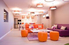 Sala común - Residencial Adelfas #vivienda #decoracion #pisos #inmobiliaria