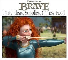It's Written on the Wall: Disney's Brave: Party Supplies, Food and Games
