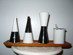 Stig Lindberg Salt & Pepper