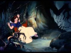 Snow White & the Haunted Forest - YouTube! #dontjudeSnow! She was almost killed so give her some slack!