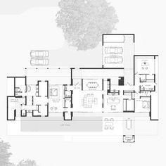 Imagen 15 de 17 de la galería de Casa de Lago / Max Strang Architecture. Planta