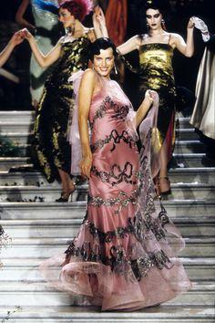 Dior Haute Couture, Haute Couture Dresses, Couture Fashion, Runway Fashion, High Fashion, Galliano Dior, John Galliano, Fashion Show Collection, Couture Collection
