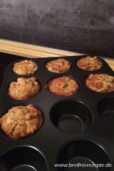 Apfel- Bananen- Haferflocken Muffins ⌛⌛ ① - breifrei-rezepte
