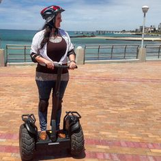 My queen ready to Segway along the beachfront. Riding Helmets, My Photos, Queen, Hats, Hat, Hipster Hat