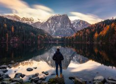 mirror by Dominic Kummer on Places Around The World, Around The Worlds, Places To Travel, Travel Destinations, Mirror Image, Great Shots, Travel Goals, Travel Pictures, The Great Outdoors