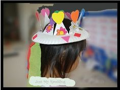 Here's a great way to play mother nature for spring with this cute crown from a paper plate. Materials: paper plate(colored is ok, t...