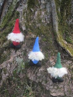 Mini Tomte a Scandinavian house gnome by Woolettes on Etsy, $18.00