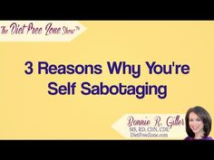 Trying to figure out why you self-sabotage? Here are 3 possible reasons why!