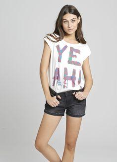 "Camiseta mujer ""YEAH AZTECA"""