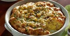 Is there anything better than waking up to an absolutely, positively, delicious breakfast casserole?