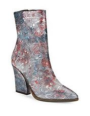 Mystic Charms Patterned Boots