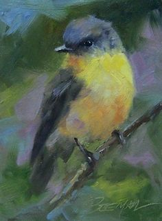 Staying Focused, painting by artist Mike Beeman