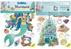 FunToSee Lana the Mermaid Girls Nursery and Bedroom Wall Decals, Mermaid FunToSee,http://www.amazon.com/dp/B002WYKBLK/ref=cm_sw_r_pi_dp_gKX2sb157N7BG9CN