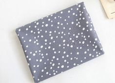 Laminated Cotton Fabric - Simple Bubbles in Grey - By the Yard - 94368 - Land of Oh Fabrics