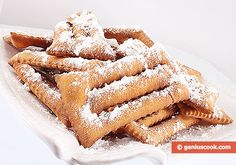 The Recipe for Italian Carnival Cookies   Baked Goods   Genius cook - Healthy Nutrition, Tasty Food, Simple Recipes