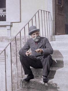Pierre-Auguste Renoir at Montmartre, 1895.