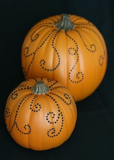Jeweled pumpkin DIY