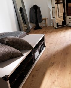 Valley Supreme   Superb quality Laminate Flooring by L'antic Colonial   Available in TileStyle Laminate Flooring, Entryway Bench, Colonial, Storage, Wood, Supreme, Furniture, Home Decor, Entry Bench