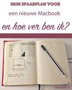 Mijn spaarplan voor een nieuwe Macbook en hoe ver ben ik? Ik heb een spaarplan opgezet voor een nieuwe Macbook en in dit artikel wil ik graag aan jullie laten zien hoe ver ik nu ben.