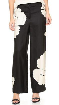 Tibi Relaxed Clean Cargo Pants