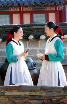 Korean Traditional Dress, Traditional Dresses, Dae Jang Geum, Modern Hanbok, Lee Young, Korean Dress, Historical Clothing, Vintage Outfits, Vintage Clothing