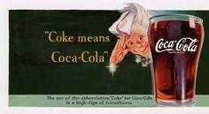 [Coke Code 254] 코-크가 코카-콜라의 준말이라는 것, 트친 여러분은 잘 알고 계시죠? 1941년, 이를 공식적으로 알리기 위해 스프라이트 보이가 광고에 등장했다고 합니다^^ 스프라이트 보이 귀엽죠?