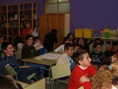 """2008-12-10 DD.HH. en Almendralejo. Taller formativo """"Teatro forum en el aula"""""""