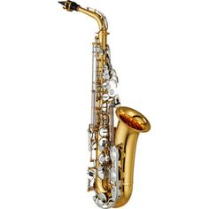 YAS26 Alto Saxophone. Perfect for the school hire fleet, it is designed for the first year player. Made to be affordable it features nickel silver key work, sturdy neck receiver and a durable, stackable hard case. Without high F#.