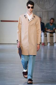 Andrea Pompilio Spring 2015 Menswear Collection - Vogue