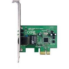 pbtech.co.nz TP-Link TG-3468, 32-bit Gigabit PCIe Network Adapter, Realtek RTL8168B Chipset 10/100/1000Mbps, (low profile bracket needs to be purchased separately)