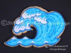 #Ocean Wave Cookie