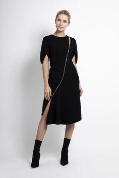 Caroline Kilkenny, Fall Winter, Autumn, Smart Casual, Cold Shoulder Dress, Dresses, Fashion, Vestidos, Moda