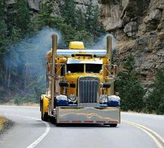 Vintage KENWORTH!  Check out those stacks #ReferATruck