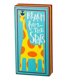 Look at this #zulilyfind! 'For The Stars' Box Sign by Primitives by Kathy #zulilyfinds
