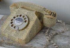 Paper Telephone | Made By Hand Online