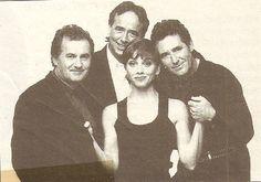 Ana Belén, Víctor Manuel, Serrat y Miguel Rios.