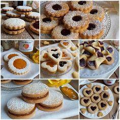 Mini Desserts, Dessert Recipes, Nutella, Biscuits, Biscotti Cookies, Romanian Food, Italian Cookies, Sweet Pastries, Xmas Cookies