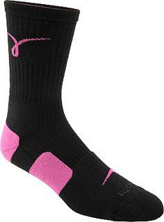 Support in style  NIKE Men's Dri-FIT Elite Kay Yow Basketball Crew Socks