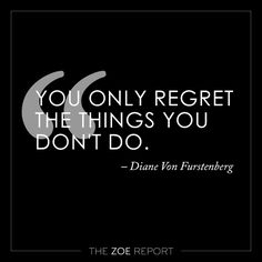 Wise words from @dvf