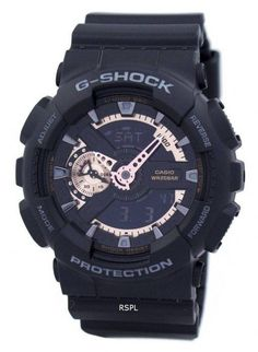 Casio G-Shock Analog-Digital Herreur - CityWatches. Stainless Steel Watch, Stainless Steel Bracelet, Countdown Timer, Time Zones, Casio G Shock, Casual Watches, Black Models, Luxury Watches For Men, Casio Watch