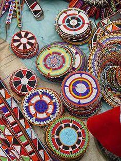 Maasai beadwork | via Demokrasia Kenya