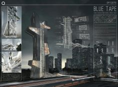 Winners of the Dubai Architecture School Tower competition | 1st prize: Evan Shieh and Ali Chen (U.S.) | Bustler