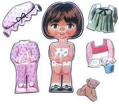 bonecas de papel anos 80 - Pesquisa Google