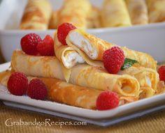 Blintzes-Nalisniki Blinchiki - Cream Cheese Crepes