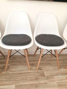 Wunderbar Sitzkissen U0026 Bodenkissen   Sitzkissen Gepolstert Für Eames Chair   Ein  Designerstück Von Creativebea Bei DaWanda